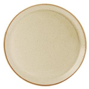 Seasons Oatmeal Pizza Plate 11inch / 28cm