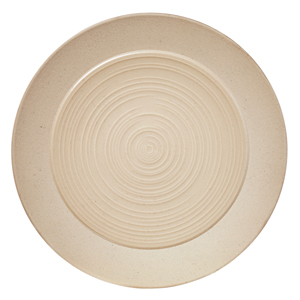 Bahia Round Bread and Butter Plates Beige Dune 5.5inch / 14cm