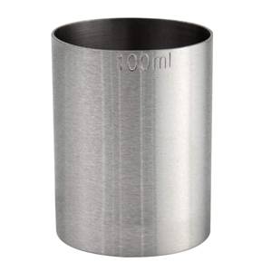 Stainless Steel Thimble Measure CE 100ml