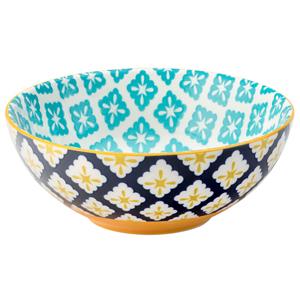 Cadiz Blue & Yellow Bowl 6.3inch / 16cm