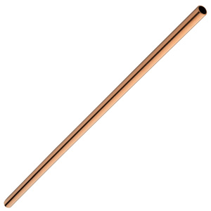 Stainless Steel Copper Cocktail Straws 8.5inch