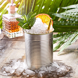 Tin Can Cocktail Cup Silver 15oz / 425ml