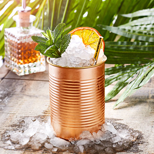 Tin Can Cocktail Cup Copper 15oz / 425ml