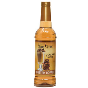 Butter Toffee Skinny Syrup 750ml