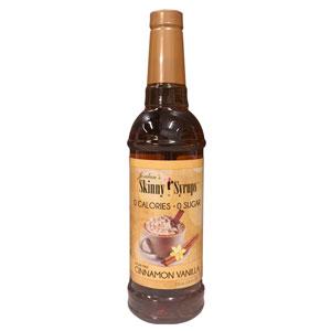 Cinnamon Vanilla Skinny Syrup 750ml