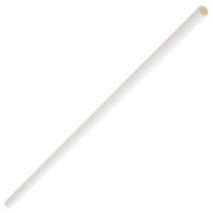 Paper Bottle Straws White 10.5inch