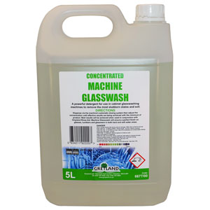 Machine Glasswash 5ltr