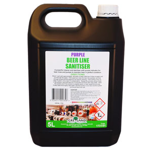 Purple Beer Line Sanitiser 5ltr