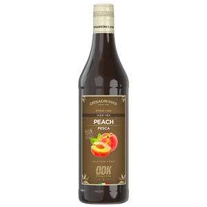 ODK Peach Iced Tea Syrup 750ml