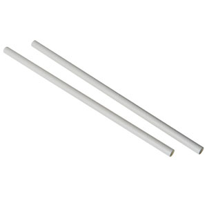 White Paper Straw 9inch