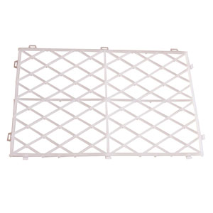 White Glass Stacking Mats 12 x 8inch