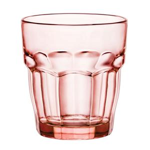 Rock Bar Lounge Rocks Glasses Peach 9.5oz / 270ml