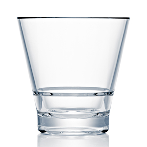 Strahl CapellaStack Polycarbonate Rocks Tumblers 9oz / 260ml