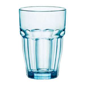 Rock Bar Lounge Long Drink Glasses Ice Blue 13oz / 370ml
