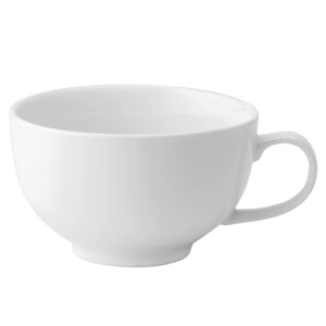 Utopia Anton Black Continental Bowl Cup 8.75oz / 250ml