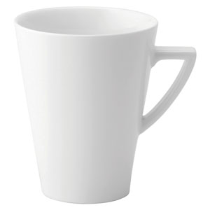 Utopia Anton Black Deco Latte Mug 16oz / 450ml