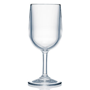 Strahl Design + Contemporary Polycarbonate Small Classic Wine Glass 8oz / 245ml