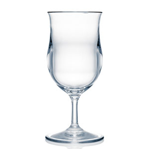 Strahl Design + Contemporary Polycarbonate Piña Colada Glass 13.5oz / 399ml