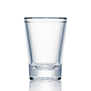 Strahl Barware Polycarbonate Shot Glass 1.7oz / 50ml