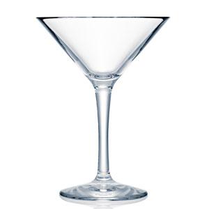 Strahl Design + Contemporary Polycarbonate Martini Glass 10oz / 295ml