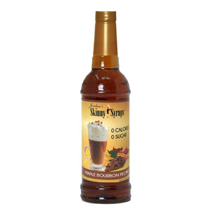 Maple Bourbon Pecan Skinny Syrup 750ml