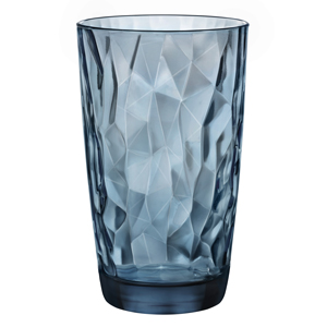 Diamond Cooler Glasses Ocean Blue 16.5oz / 470ml