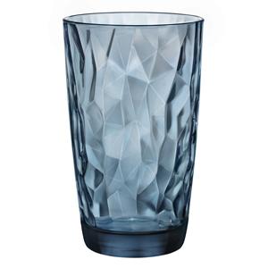 Diamond Cooler Glasses Ocean Blue 16.5oz / 470ml