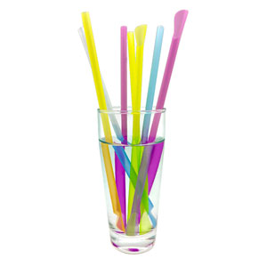 Colour Changing Spoon Straws