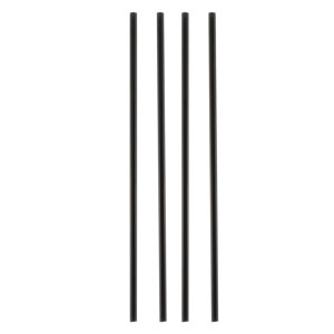 Black Compostable Sip Straws 5.5inch