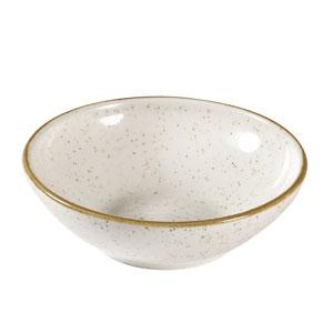 Churchill Stonecast Barley White Shallow Bowl 4.5inch / 11.6cm