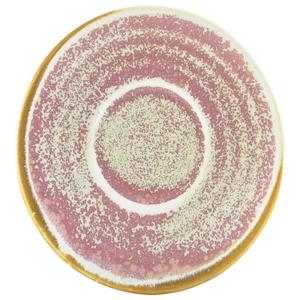 Terra Porcelain Saucer Rose 4.5inch / 11.5cm