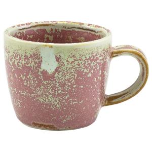 Terra Porcelain Espresso Cup Rose 3oz / 90ml