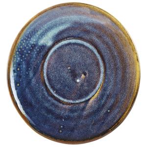 Terra Porcelain Saucer Aqua Blue 5.7inch / 14.5cm