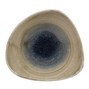 Churchill Stonecast Aqueous Bayou Triangle Bowl 7.25inch / 18.5cm
