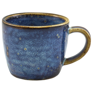 Terra Porcelain Espresso Cup Aqua Blue 3oz / 90ml