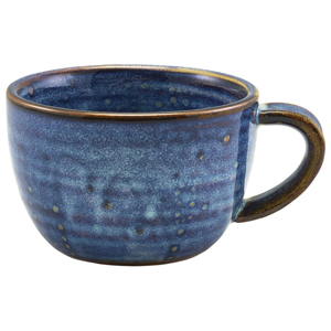 Terra Porcelain Coffee Cup Aqua Blue 10oz / 285ml