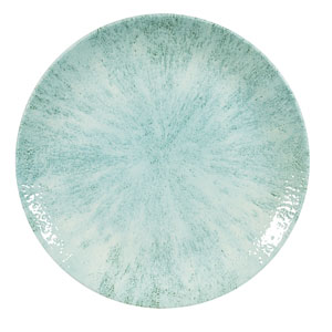 Churchill Studio Prints Stone Aquamarine Coupe Plate 6.5inch / 16.5cm