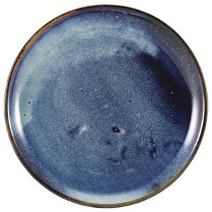 Terra Porcelain Coupe Plates Aqua Blue 12inch / 30.5cm