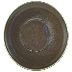 Terra Porcelain Saucer Black 5.7inch / 14.5cm
