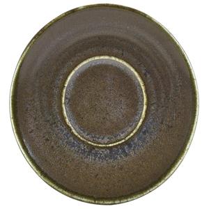 Terra Porcelain Saucer Black 4.5inch / 11.5cm