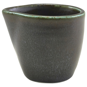 Terra Porcelain Jug Black 3oz / 90ml