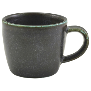 Terra Porcelain Espresso Cup Black 3oz / 90ml