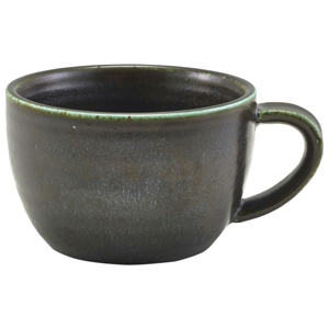 Terra Porcelain Coffee Cup Black 10oz / 285ml