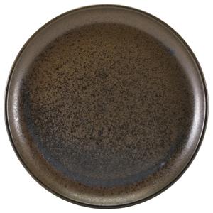 Terra Porcelain Coupe Plates Black 12inch / 30.5cm