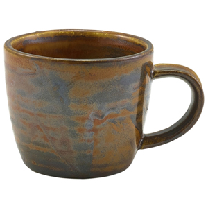 Terra Porcelain Espresso Cup Rustic Copper 3oz / 90ml