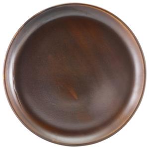 Terra Porcelain Coupe Plates Rustic Copper 12inch / 30.5cm