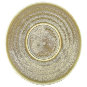 Terra Porcelain Saucer Matt Grey 4.5inch / 11.5cm