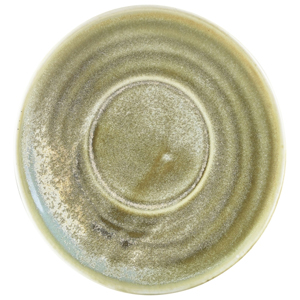Terra Porcelain Saucer Matt Grey 5.7inch / 14.5cm