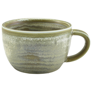 Terra Porcelain Coffee Cup Matt Grey 10oz / 285ml