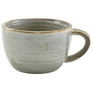 Terra Porcelain Coffee Cup Grey 10oz / 285ml